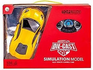 Stinnos DieCast Simulation Remote control Car Yellow