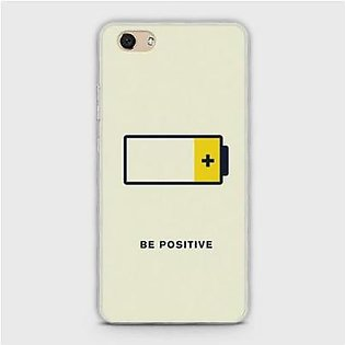 SkinLee Vivo Y81I Cover HQ Hybrid Case Be Positive Multicolor