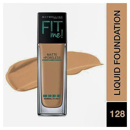 Maybelline Matte Poreless Liquid Foundation Blue
