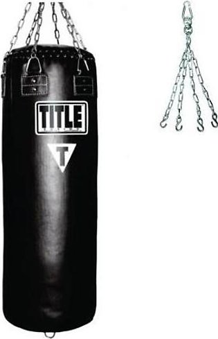 Pack of 2 Punching Bag & Chain Pg-04 Black
