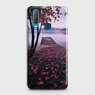 SkinLee Vivo Y15 Cover HQ Hard Case Beautiful Nature Multicolor