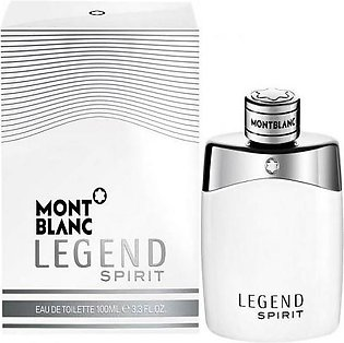 Mont Blanc - Legend Spirit For Men MBLSM100 - EDT 100ml
