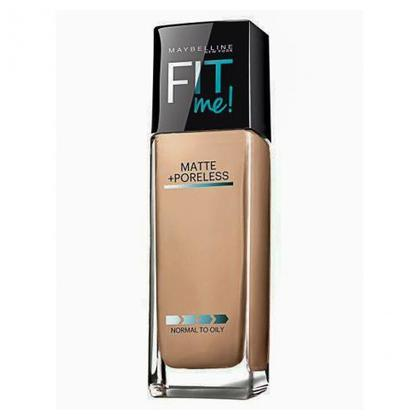 Maybelline Matte Poreless Liquid Foundation Black