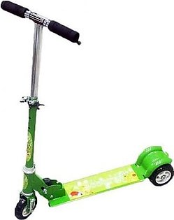 Scooty for Kids Green