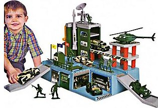 Military Park Play Set  For Kids