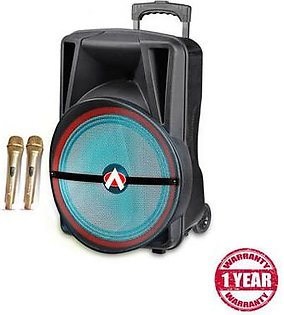 Audionic Mehfil Subwoofer with MIC MH75 Black