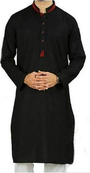 Hyperzone Cotton Kurta For Men With Shalwar HYP-22 Black