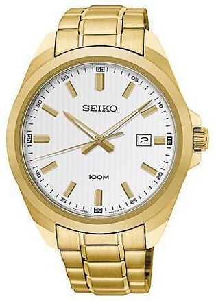 Seiko Watch for Men SUR280P1 Gold