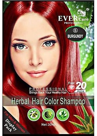 Evercare Professional Herbal Hair Color Burgundy