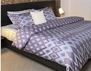 Ikat Gradation Double Quilt Cover