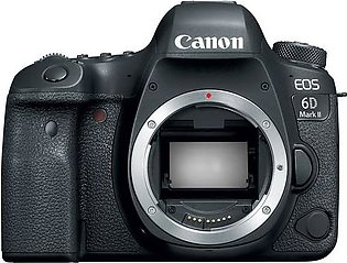 Canon 6D Mark II DSLR Camera Body Only