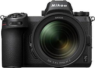 Nikon Z7 with 24-70mm F4/S Lens + FTZ Adopter + 64GB XQD Card