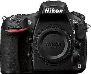 Nikon D810 DSLR Camera Body (Camtronix Warranty)