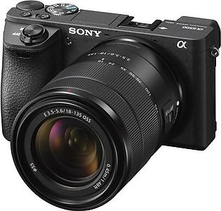 Sony Alpha a6500 4k Mirrorless With 18-135mm Lens