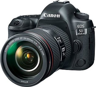 Canon 5D Mark IV DSLR Camera With 24-105mm F4L IS ii Lens