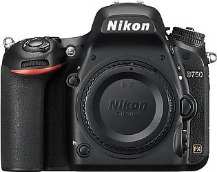 Nikon D750 DSLR Camera Body (Camtronix Warranty)