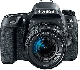 Canon 77D DSLR Camera with 18-135mm IS USM Lens