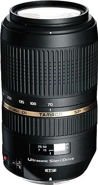 Tamron SP 70-300mm f/4-5.6 Di VC USD Telephoto Zoom Lens