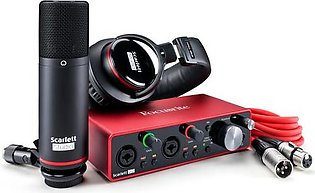 Focusrite Scarlett 2i2 Studio 2×2 USB Audio Interface (3rd Generation)