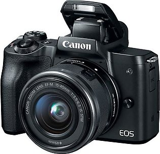Canon M50 Mirrorless Digital Camera with 15-45mm Lens