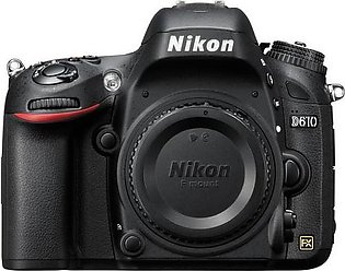 Nikon D610 DSLR Camera Body (Camtronix Warranty)