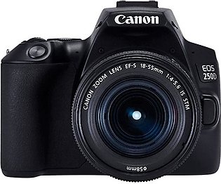 Canon 250D DSLR Camera with 18-55mm iii Lens