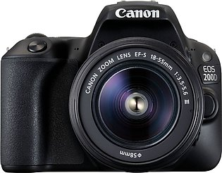 Canon 200D DSLR Camera With 18-55mm DC III Lens