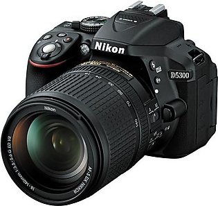 Nikon D5300 DSLR Camera with 18-140mm Lens (Camtronix Warranty)