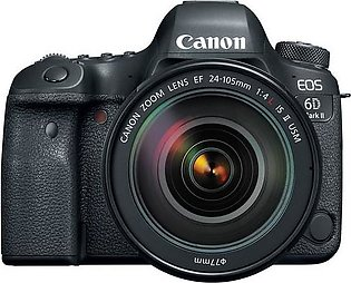Canon 6D Mark II With EF 24-105mm f/4L IS ii USM Lens