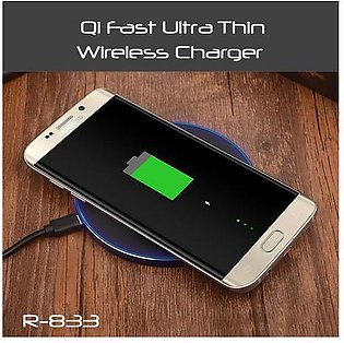 Ultra Thin QI Fast Wireless Charger R-833