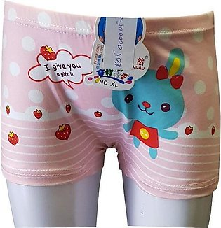 Light Pink Bunny Boxers for Kids