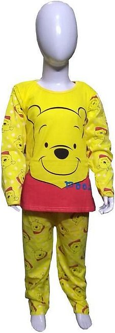 Yellow Pooh Night Suits