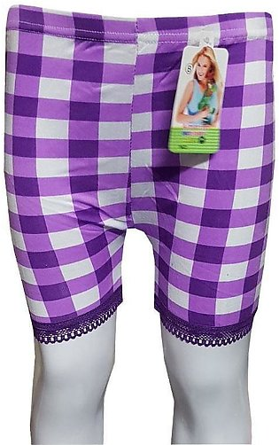 Purple Checks With Lase Boxers for Kids