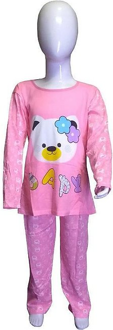 Papy Pink Night Suits