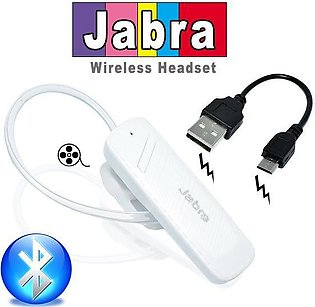 Jabra Discover Freedom Bluetooth Stereo Headset - White