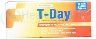 T-Day Tab 5mg 30's