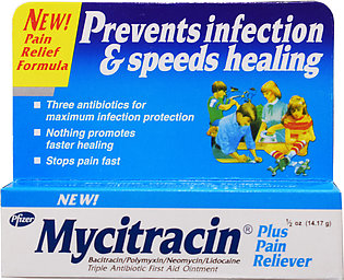 Mycitracin Plus Oint 14.17g
