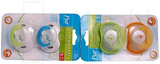 2 Packs of Day Time Pacifier S (Slow) with Orthodontic teat 1's-4015