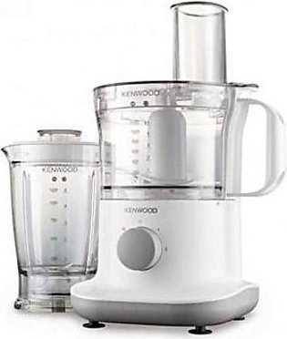 Kenwood FPP230 Food Processor 750W White & Silver