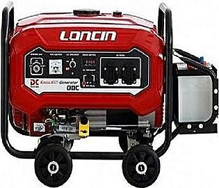 Loncin LC3900DDC Petrol & Gas Generator 3.0 KVA With Battery & Gas KIT 2018 M...