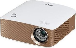 LG LED Projector in White & Gold