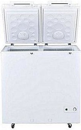 Haier HDF-385H Double Door Deep Freezer