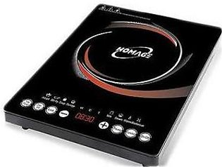 Homage Induction Cooker in Black