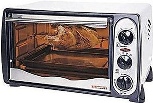 Westpoint WF1800R Toaster Oven with Rotisserie 18 Litre Grey & White