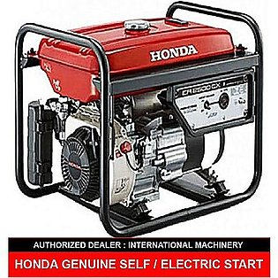 Honda HONDA ER2500CX (Electric / Self with Liquid Battery &GAS KIT (GAS &PETR...