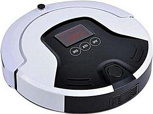 Smart Robot Vacuum Cleaner Automatic Sweeping Machine White