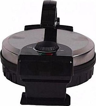 Westpoint WF6512 Roti Maker With Timer Silver & Black
