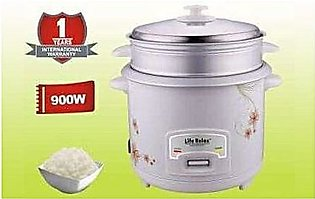 Life relax LR602 Electric Rice & Pressure Cooker 6 Liter White