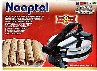 Alshops pk Electric Roti Maker Silver & Black