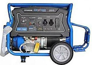 Euro Power 8.0 KVA EP6800E Petrol & Gas Generator with FREE Battery & Gas Kit...